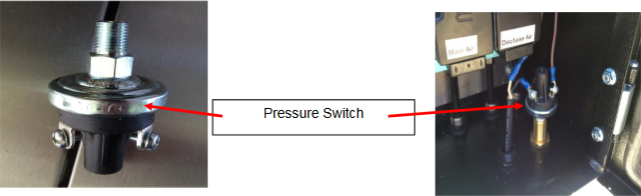 pressure switch close up
