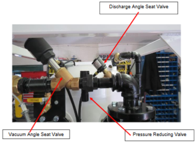 vacuum angle seat valve, pressure reducing valve, discharge angle seat valve