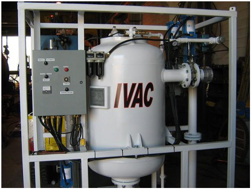 PV500 industrial vacuum in workshop