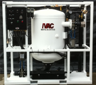 PV500 industrial vacuum unit close up