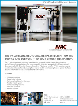 IVAC PV500 brochure with features front page