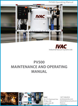 IVAC PV500 maintenance and operating manual cover