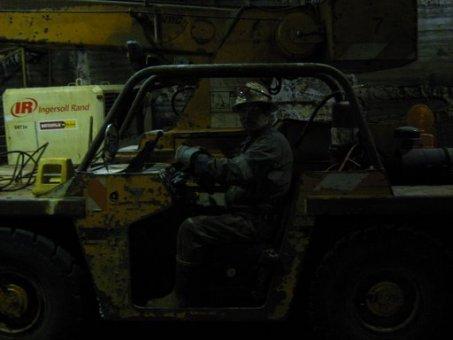 miner driving equipment