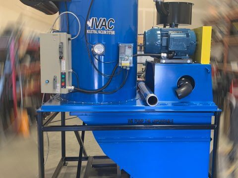 IVAC central vacuum system