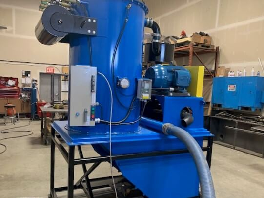 30 hp central vacuum system